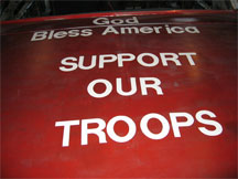 GOD BLESS AMERICA - SUPPORT OUR TROOPS!